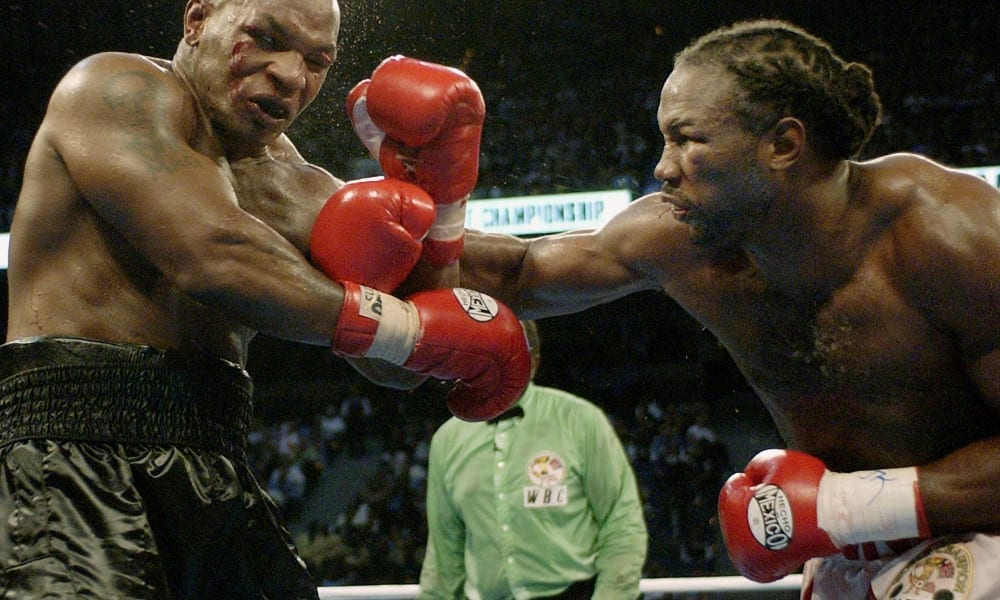 Lennox Lewis Considering Long-Awaited Rematch With Mike Tyson