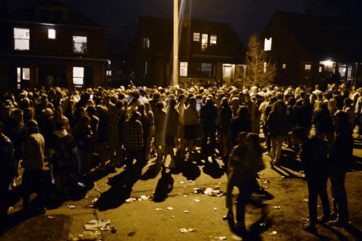 Boulder Party turns violent
