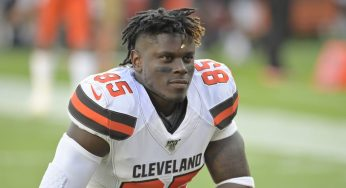 Cleveland Browns' David Njoku's Cryptic Tweet Fuels Speculation That He Is Leaving