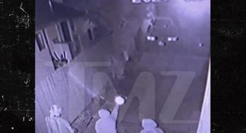 Armed Men Caught Shooting At Rapper Laney Keyz's Home In Surveillance Footage