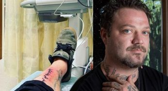 Bam Margera Hospitalized After Tattoo Nightmare Develops Staph Infection