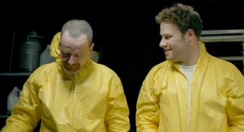 Seth Rogen Remembers Being Stoned & Spooking Bryan Cranston