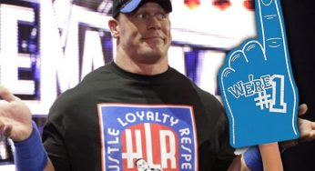 John Cena Was Legit Beat 'Half To Death' For Playing With Foam Finger During WWE Match