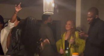 Drake, Adele & Daniel Kaluuya Party It Up After The Oscars