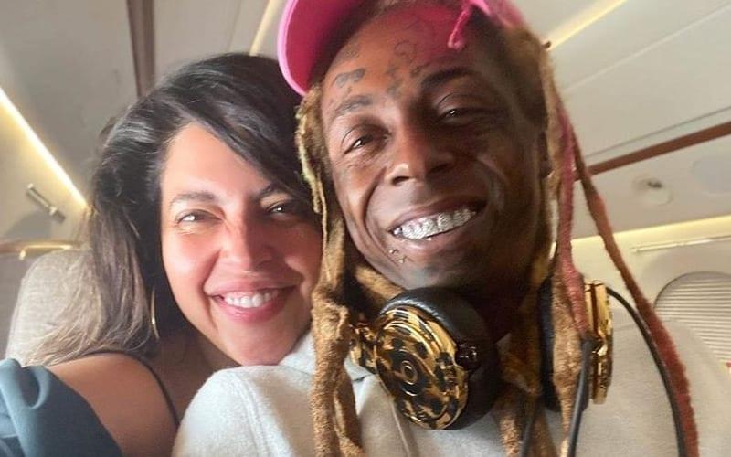 Lil-Wayne-&-Denise-Bidot