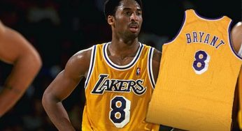 Kobe Bryant's Rookie Jersey Could Break Record Numbers At Auction