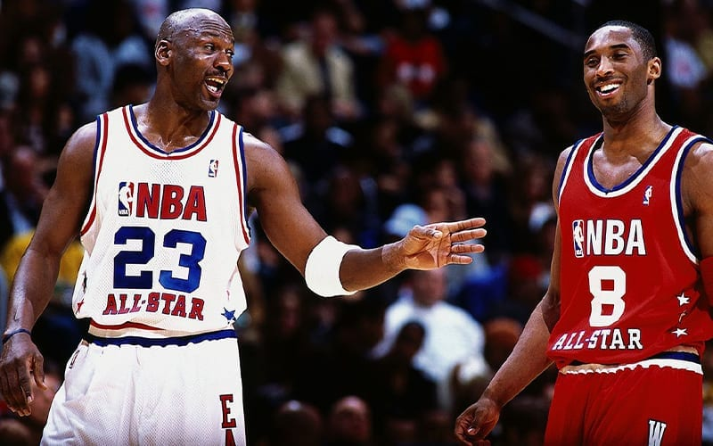 Kobe Bryant To Be Inducted Into Hall Of Fame By Michael Jordan