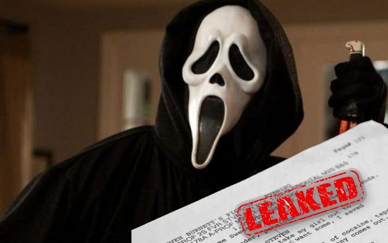 scream 5 script leak