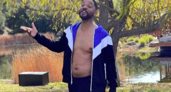 Will Smith Posts Unflattering Photo Of Him Being In The 'Worst Shape' Ever