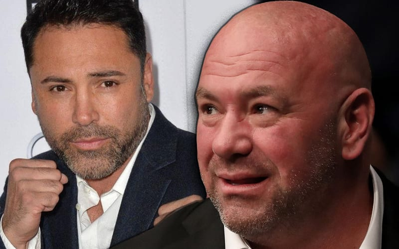 Dana White Says Oscar De La Hoya Should Win An Academy Award For His Hospital Performance