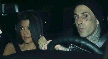 Kourtney Kardashian & Travis Barker's Relationship Causes Legit Drama With Exes
