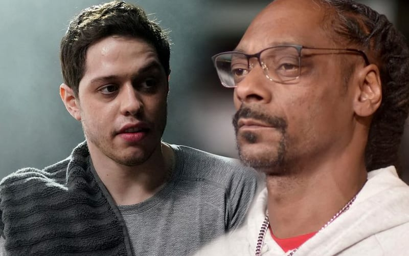Pete-Davidson-Apparently-Can't-Handle-Snoop-Dogg's-Weed