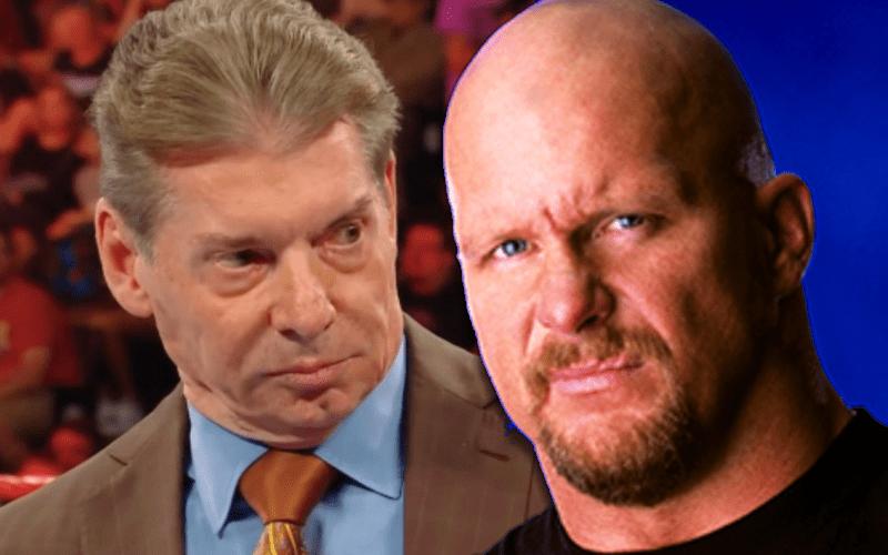 Steve Austin Reveals How He Got Vince McMahon To Up His Merch Money