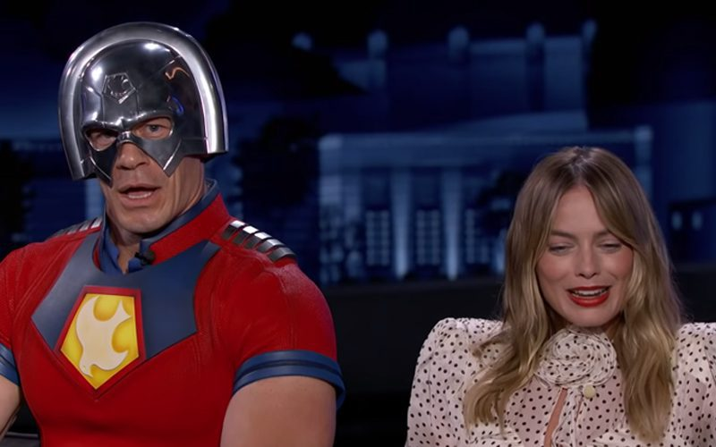 Margot Robbie Slept In Room With Life-Size John Cena Cardboard Cutout For 2 Years