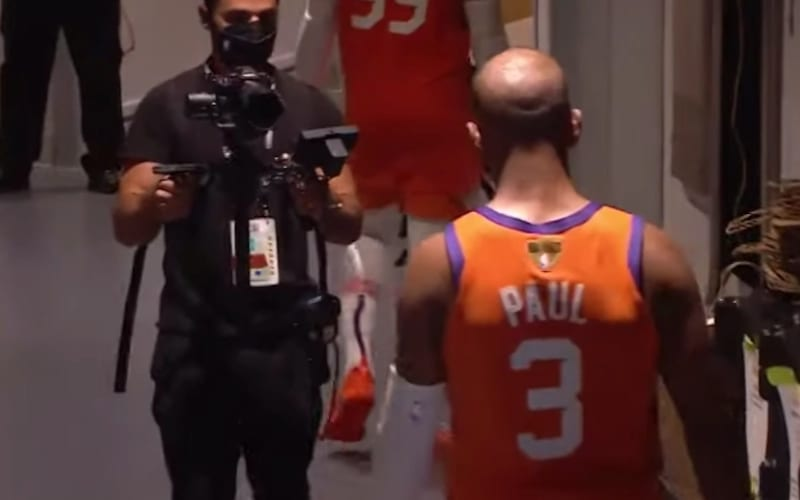 Chris Paul Jetted to The Locker Room After Phoenix Suns' Loss In NBA Finals