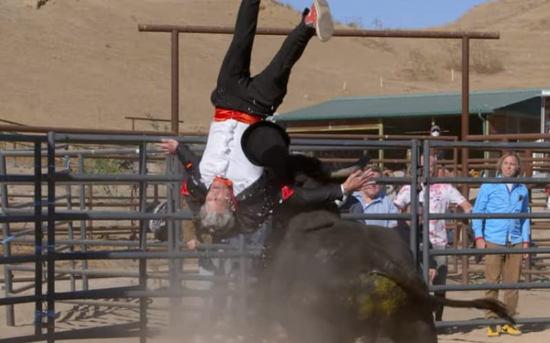 Johnny Knoxville Nearly Killed By Bull In First Jackass 4 Trailer