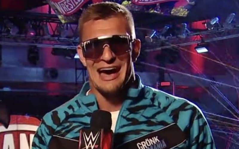 WWE's Original Plan For Rob Gronkowski Revealed