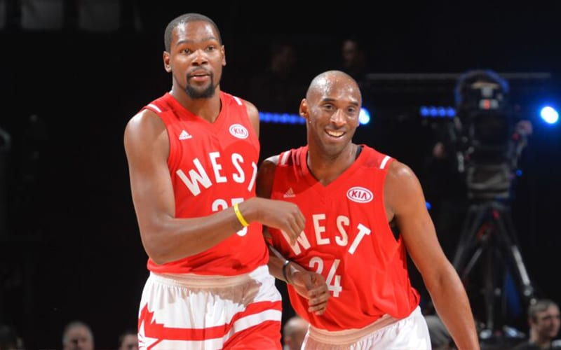 """Kevin Durant Reveals What Was Behind Kobe Bryant's """"God-Like"""" Prowess"""