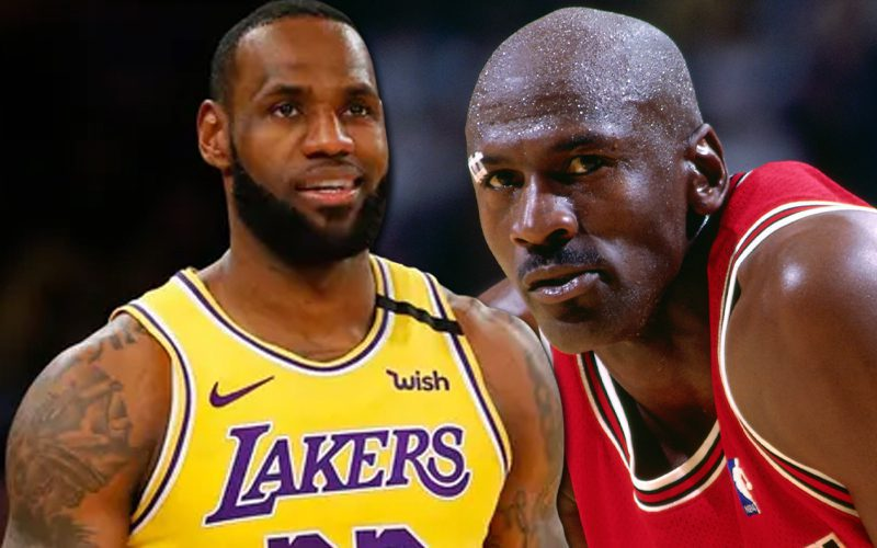 Michael Jordan Says LeBron James Might Be On His Level In 20 Years