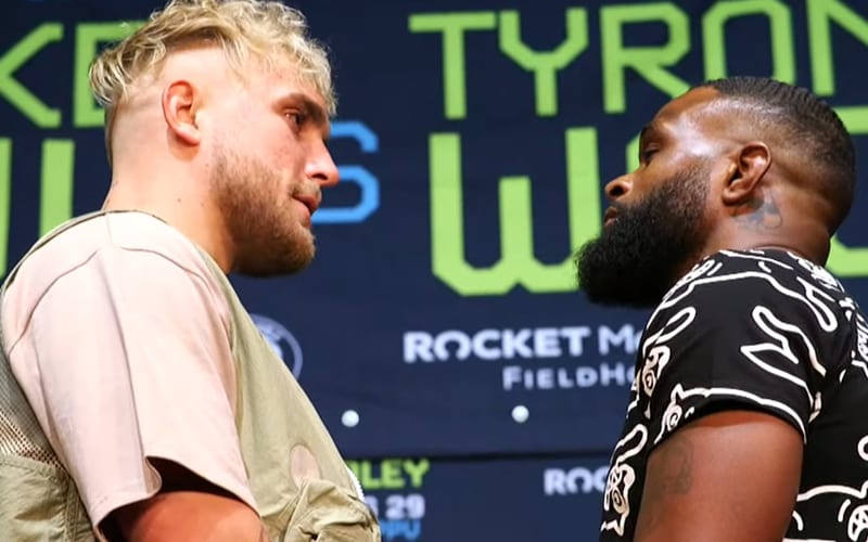 Jake Paul & Tyron Woodley Agree To Tattoo Stipulation For Upcoming Boxing Match