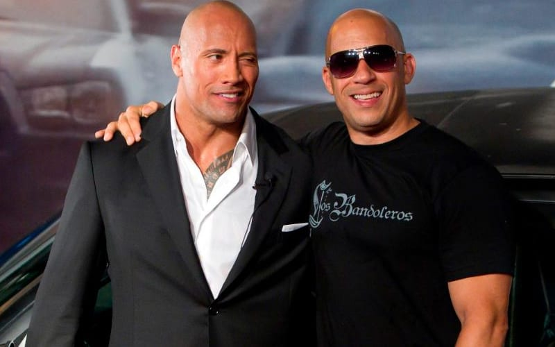 The Rock Reacts To Vin Diesel's 'Tough Love' Comments