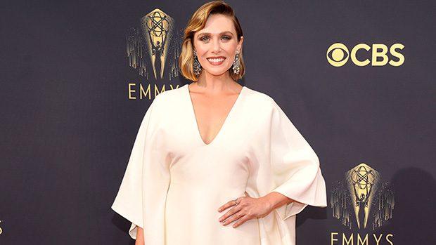 Elizabeth Olsen Supports Her Olsen Twins Sisters With Emmy Awards Dress
