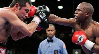 Floyd Mayweather Up For Oscar De La Hoya Boxing Match After $100 Million Offer