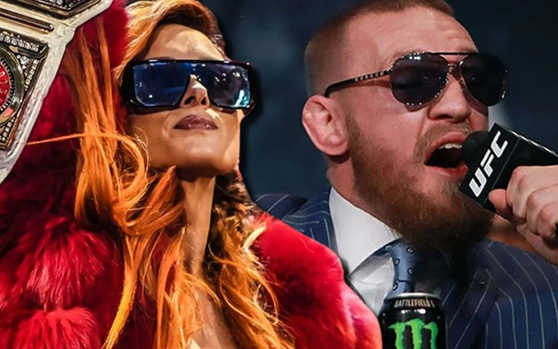 Becky Lynch Compares Herself To Conor McGregor