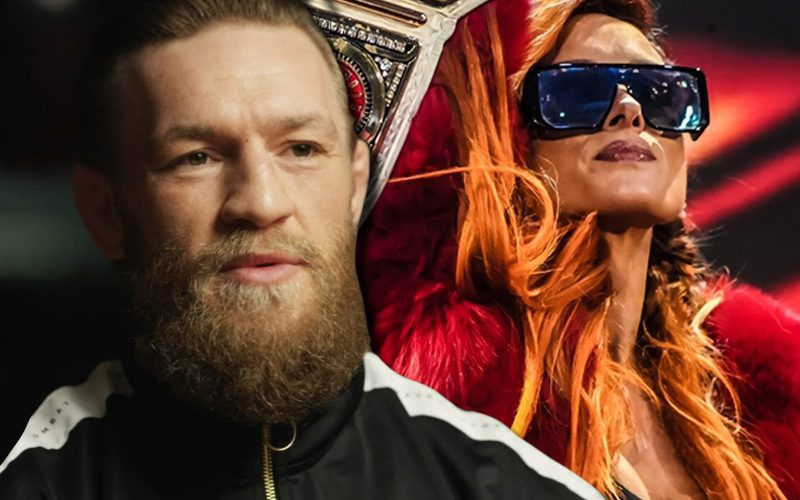 Becky Lynch Admits To Lifting Lines From Conor McGregor