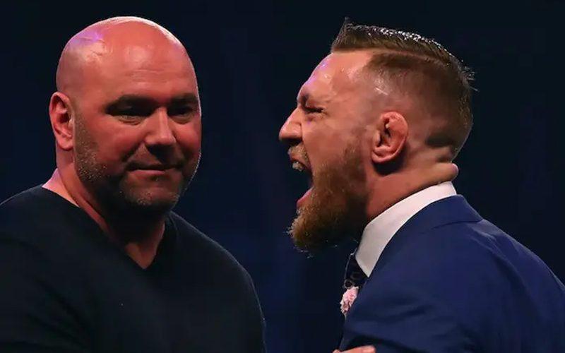 Dana White Sets Condition For Conor McGregor's UFC Return