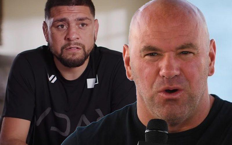 Dana White Unsure If Nick Diaz Will Return To UFC