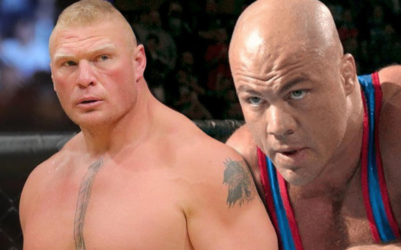 Kurt Angle Was Willing To Fight Brock Lesnar In UFC