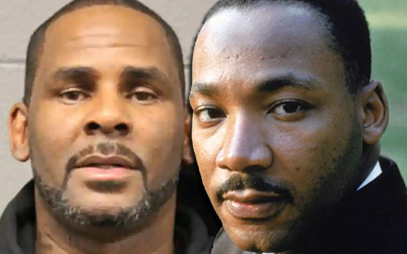 R. Kelly's Defense Team Compares Him To Martin Luther King Jr.