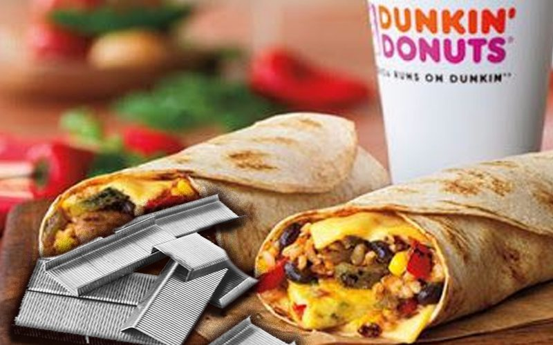 Dunkin Donuts Takes Action After Pro Wrestler Finds Staples In Breakfast Wrap