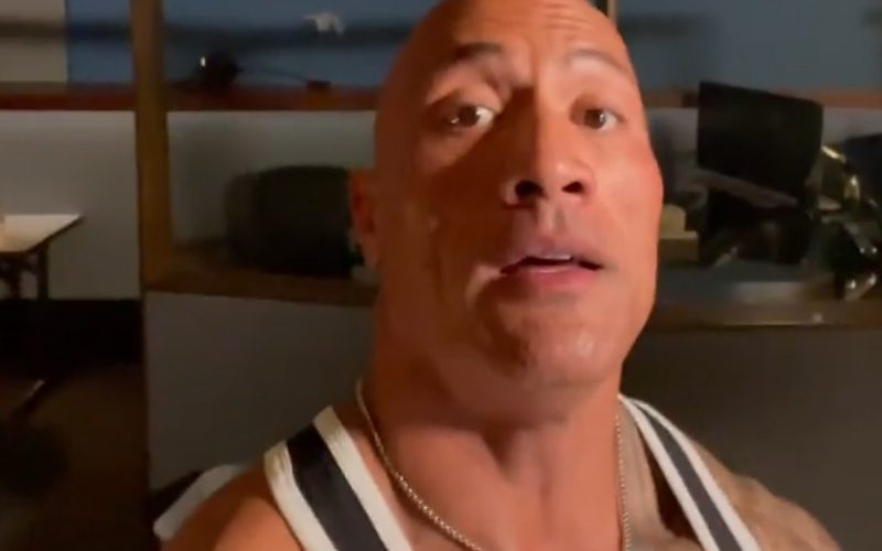 The Rock Wraps Filming On New DC Studios Project