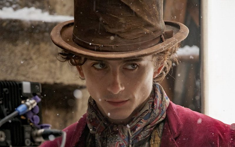 Timothée Chalamet Clowned By Twitter After Willy Wonka Look Is Revealed