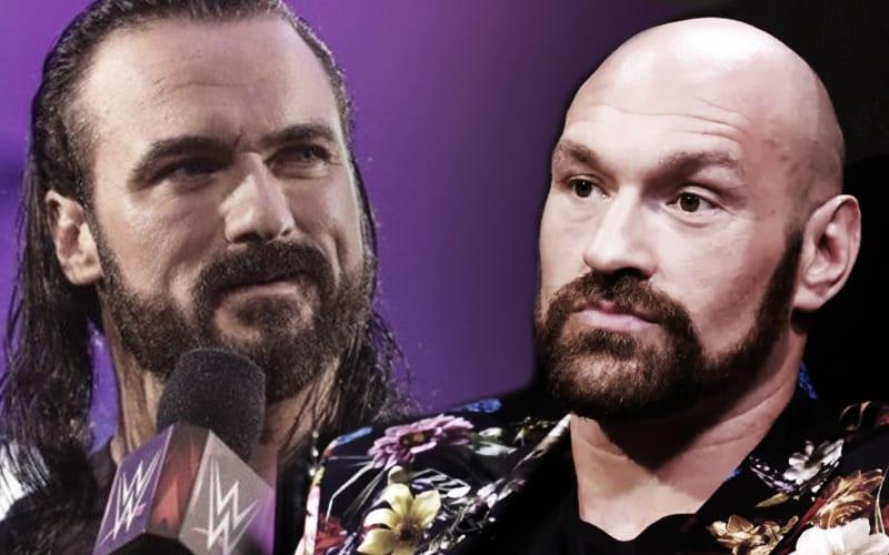 Drew McIntyre Still Adamant About Facing Tyson Fury
