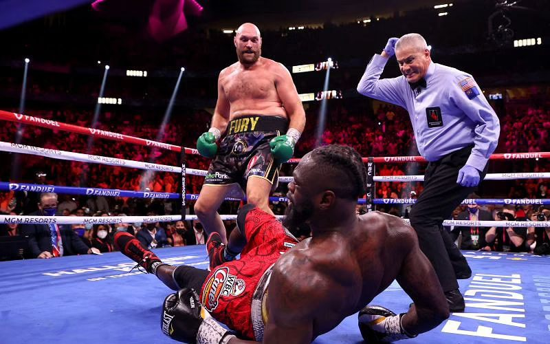 Tyson Fury Defeats Deontay Wilder In Third Boxing Match
