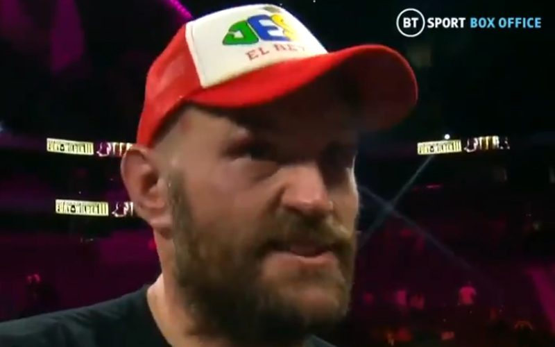 Tyson Fury Reveals What Deontay Wilder Told Him After Losing Trilogy Fight