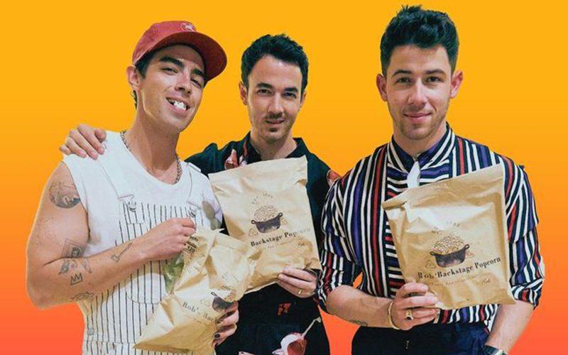 Jonas Brothers Launch A New Popcorn Brand