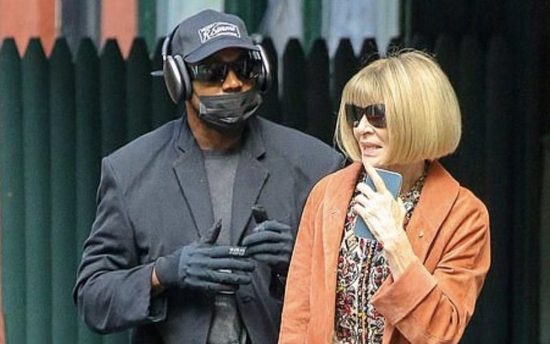 Kanye West Spotted Having Lunch With Anna Wintour In New York City