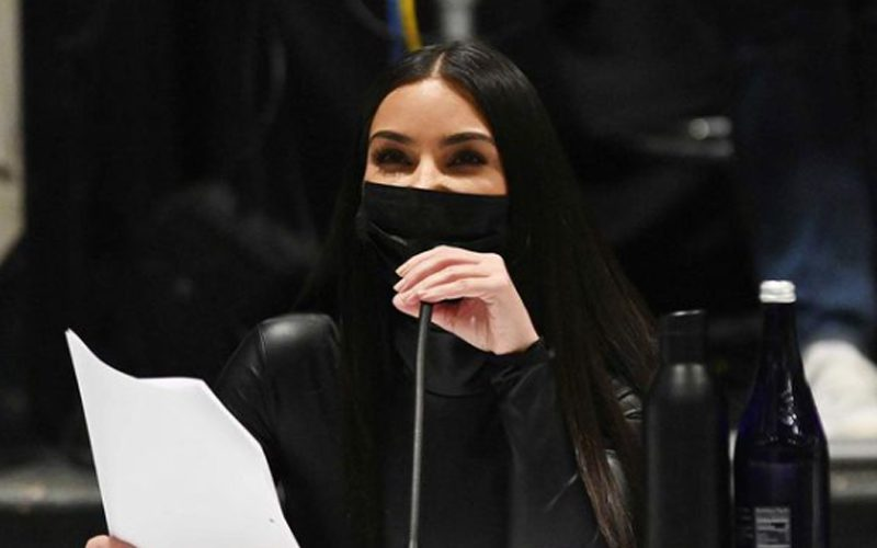 Kim Kardashian Looking Confident During First SNL Table Read
