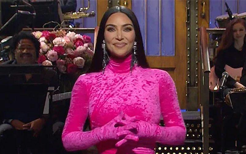 Kim Kardashian Takes A Shot At Kanye West During SNL Hosting Gig