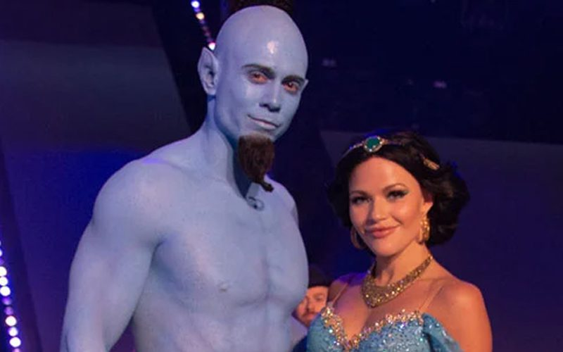 The Miz Looks Unrecognizable As Genie During Dancing With The Stars