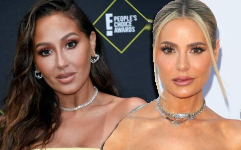 Adrienne Bailon Throws Shade At Real Housewives Of Beverly Hills Star Dorit Kemsley