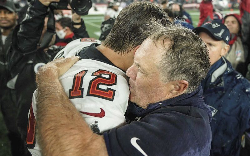 Bill Belichick Shades Tom Brady After Patriots Loss To Buccaneers