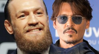 Conor McGregor Links Up With Johnny Depp In Italy