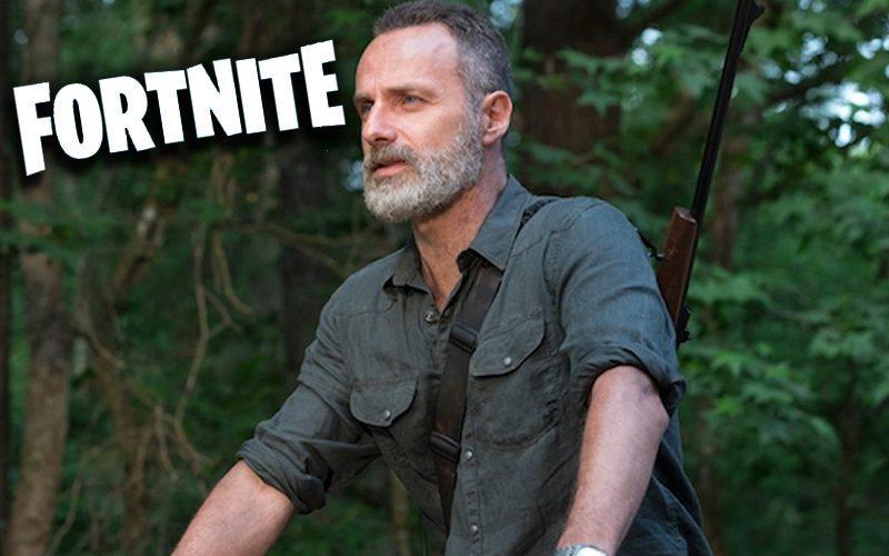 The Walking Dead's Rick Grimes Makes Fortnite Debut