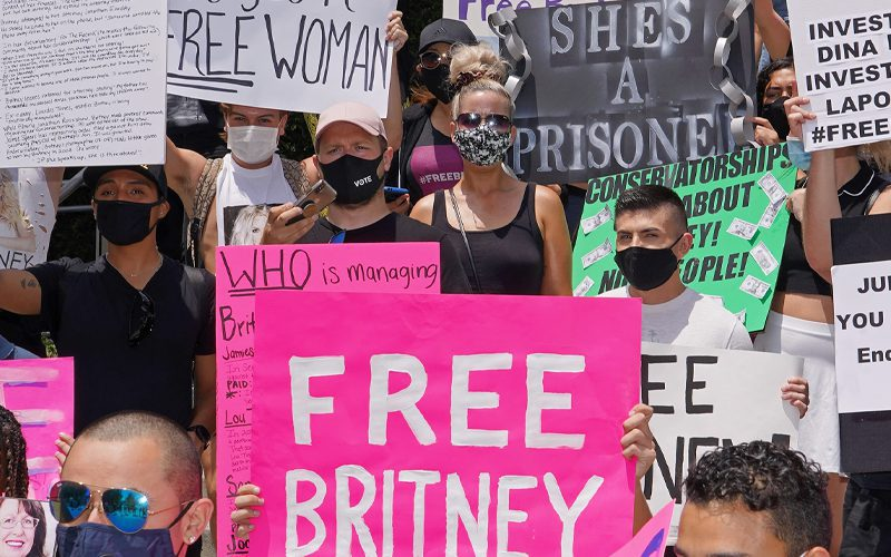 Britney Spears Cried Tears Of Joy For Hours Over Fan Support