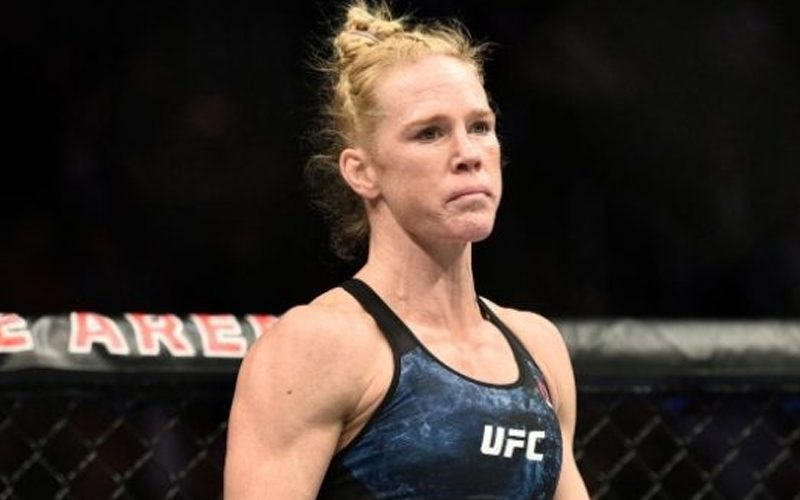 Holly Holm Injured & Pulled From Upcoming Fight